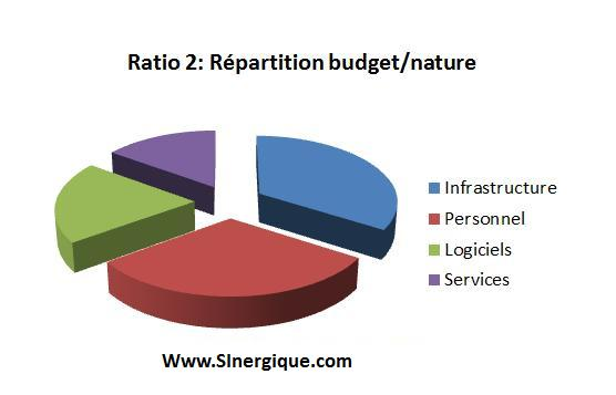 ratio 2 repartition budget nature